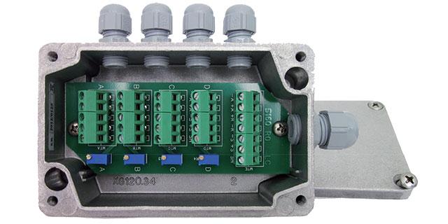 cajas sumadoras JBOX4 AL