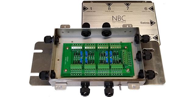 cajas sumadoras JBOX8 SS