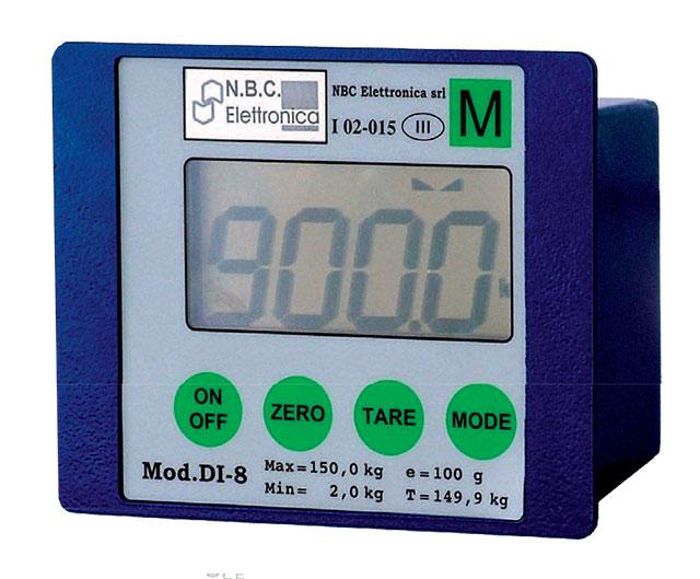 indicadores de peso DI 08