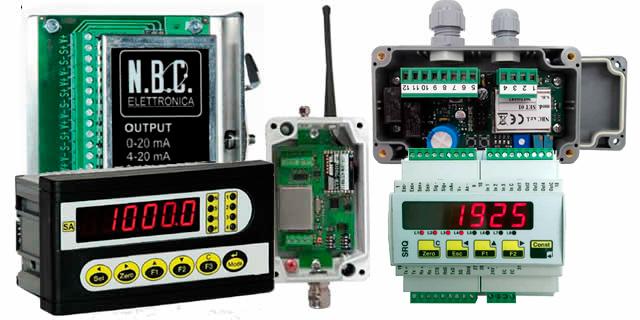 instrumentacion de pesaje industrial
